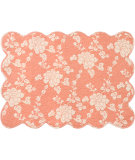 RugStudio presents Pine Cone Hill Placemat Madeline Terracotta