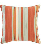 RugStudio presents Pine Cone Hill Pillow October Orange