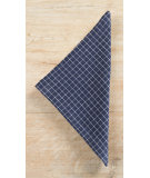 RugStudio presents Pine Cone Hill Napkins Parchment Linen Checkerboard Ink