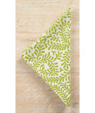 RugStudio presents Pine Cone Hill Napkins Scramble Key Lime