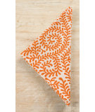 RugStudio presents Pine Cone Hill Napkins Scramble Pumpkin