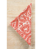 RugStudio presents Pine Cone Hill Napkins Scramble Tomato