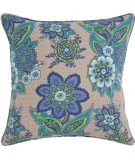 RugStudio presents Pine Cone Hill Pillow Shalini Bluemarine