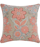 RugStudio presents Pine Cone Hill Pillow Shalini Terracotta/Slate