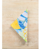 RugStudio presents Pine Cone Hill Napkins Tweetie Blue