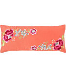 RugStudio presents Pine Cone Hill Pillow Yuri Silk Persimmon
