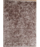 RugStudio presents Famous Maker B Shag 112441 Silver Gray Area Rug