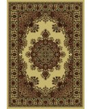 RugStudio presents Radici Usa Castello Series 1191 Ivory Machine Woven, Good Quality Area Rug
