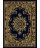 RugStudio presents Radici Usa Castello Series 1191 Navy Machine Woven, Good Quality Area Rug