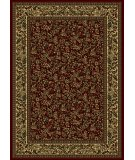 RugStudio presents Radici Usa Castello Series 1219 Burgundy Machine Woven, Good Quality Area Rug