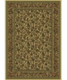RugStudio presents Radici Usa Castello Series 1219 Ivory Machine Woven, Good Quality Area Rug