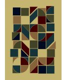 RugStudio presents Radici Usa Castello Series 1392 Ivory Machine Woven, Good Quality Area Rug