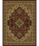 RugStudio presents Radici Usa Castello Series 808 Burgundy Machine Woven, Good Quality Area Rug