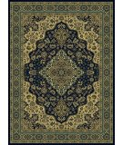 RugStudio presents Radici Usa Castello Series 808 Navy Machine Woven, Good Quality Area Rug