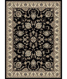 RugStudio presents Radici Usa Alba 1426 Black Machine Woven, Good Quality Area Rug
