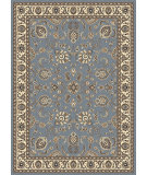RugStudio presents Radici Usa Alba 1426 Greyish Blue Machine Woven, Good Quality Area Rug