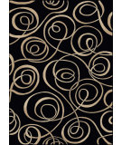 RugStudio presents Radici Usa Vesuvio 1733 Black Machine Woven, Good Quality Area Rug