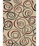 RugStudio presents Radici Usa Vesuvio 1733 Ivory Machine Woven, Good Quality Area Rug