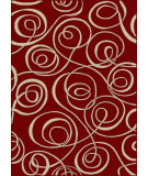 RugStudio presents Radici Usa Vesuvio 1733 Red Machine Woven, Good Quality Area Rug