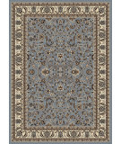 RugStudio presents Radici Usa Alba 1767 Greyish Blue Machine Woven, Good Quality Area Rug