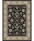 RugStudio presents Radici Usa Alba 1769 Black Machine Woven, Good Quality Area Rug