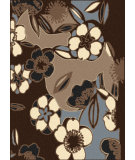 RugStudio presents Radici Usa Alba 1847 Brown Machine Woven, Good Quality Area Rug
