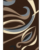 RugStudio presents Radici Usa Alba 1850 Brown Machine Woven, Good Quality Area Rug