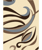 RugStudio presents Radici Usa Alba 1850 Ivory Machine Woven, Good Quality Area Rug