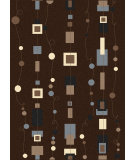RugStudio presents Radici Usa Alba 1853 Brown Machine Woven, Good Quality Area Rug