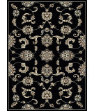 RugStudio presents Radici Usa Alba 1869 Black Machine Woven, Good Quality Area Rug