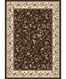 RugStudio presents Radici Usa Alba 1876 Brown Machine Woven, Good Quality Area Rug