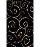 RugStudio presents Radici Usa Vesuvio 1784 Black-Ivory Machine Woven, Good Quality Area Rug