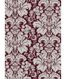 RugStudio presents Radici Usa Bella 1809 Eggplant Machine Woven, Good Quality Area Rug