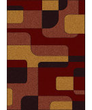 RugStudio presents Radici Usa Bella 1813 Red Machine Woven, Good Quality Area Rug
