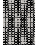 RugStudio presents Radici Usa Bella 1820 Black Machine Woven, Good Quality Area Rug
