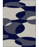 RugStudio presents Radici Usa Bella 1826 Blue Machine Woven, Good Quality Area Rug