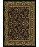 RugStudio presents Radici Usa Castello Series 1194 Black Machine Woven, Good Quality Area Rug