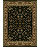 RugStudio presents Radici Usa Castello 953 Black Machine Woven, Good Quality Area Rug