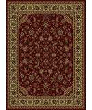 RugStudio presents Radici Usa Castello 953 Burgundy Machine Woven, Good Quality Area Rug