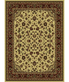 RugStudio presents Radici Usa Castello 953 Ivory Machine Woven, Good Quality Area Rug