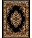 RugStudio presents Radici Usa Como 1595 Black Machine Woven, Good Quality Area Rug