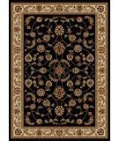 RugStudio presents Radici Usa Como 1596 Black Machine Woven, Good Quality Area Rug