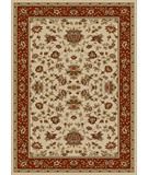 RugStudio presents Radici Usa Como 1597 Ivory-Brick Machine Woven, Good Quality Area Rug