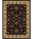 RugStudio presents Radici Usa Como 1597 Black Machine Woven, Good Quality Area Rug