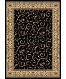 RugStudio presents Radici Usa Como 1599 Black Machine Woven, Good Quality Area Rug