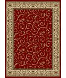 RugStudio presents Radici Usa Como 1599 Red Machine Woven, Good Quality Area Rug