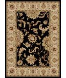 RugStudio presents Radici Usa Como 1621 Black Machine Woven, Good Quality Area Rug