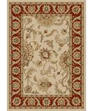 RugStudio presents Radici Usa Como 1621 Ivory-Brick Machine Woven, Good Quality Area Rug