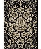 RugStudio presents Radici Usa Como Contemporary 1717 Absolute Black Machine Woven, Good Quality Area Rug