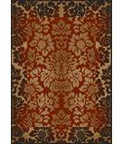 RugStudio presents Radici Usa Como Contemporary 1717 Brick Machine Woven, Good Quality Area Rug